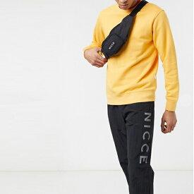 小さなロゴ 黒 Nicce バンバッグ 20代 30代 40代 ファッション コーディネート インポートブランド