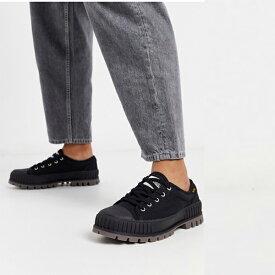 Palladium pallashock og トレーナー ブラック 靴 20代 30代 40代 ファッション コーディネート 小さいサイズから大きいサイズまで オシャレ トレンド インポート トレンド