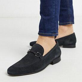 ベースロンドン ソプラノバー ローファー ネイビー スエード 靴 20代 30代 40代 ファッション コーディネート オシャレ カジュアル