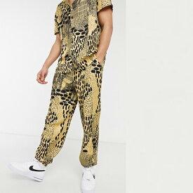 ASOS MADE IN KENYA バルーン フィット プルオーバー アニマル プリント 20代 30代 40代 ファッション コーディネート小さいサイズから大きいサイズまで オシャレ トレンド インポート トレンド