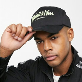 ミッチェル&ネス 110 スナップバック ブラック ミント ロゴ キャップ 帽子 メンズ 20代 30代 40代 ファッション コーディネート オシャレ トレンド インポート
