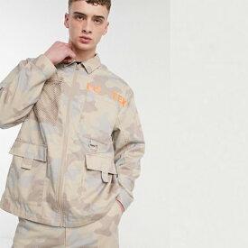 迷彩 COLLUSION ユーティリティ シャケット トップス メンズ 20代 30代 40代 ファッション コーディネート小さいサイズから大きいサイズまで オシャレ トレンド インポート トレンド