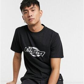 黒 ロゴ Dickies Mackville Tシャツ メンズ 20代 30代 40代 ファッション コーディネート 小さいサイズから大きいサイズまで オシャレ トレンド インポート トレンド