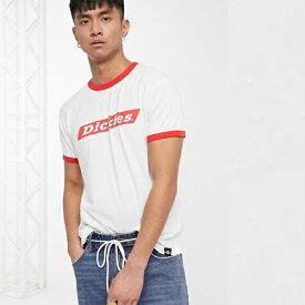 Dickies Bakerton Tシャツ(赤のリンガーディテール付き) メンズ 20代 30代 40代 ファッション コーディネート 小さいサイズから大きいサイズまで オシャレ トレンド インポート トレンド