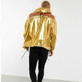 Fila Gustas ゴールド 軽量 パーカー 20代 30代 40代 ファッション コーディネート 小さいサイズから大きいサイズまで オシャレ トレンド インポート トレンド