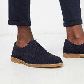 ネイビー オム スエード ダービーシューズ 靴 20代 30代 40代 ファッション コーディネート 小さいサイズから大きいサイズまで オシャレ トレンド インポート トレンド