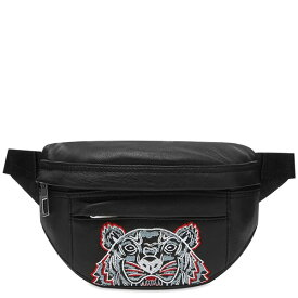 KENZO(ケンゾー) KENZO TIGER レザー クロス ボディ バッグ 鞄 ハイブランド インポート ブランド