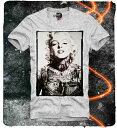 E1SYNDICATE(イーワンシジケート)マリリンモンロー tatoo ロック Tシャツ 20代 30代 ファッション コーディネート オシャレ トレンド T-シャツ 日本未入荷 インポート シンジ
