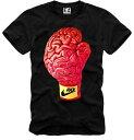 E1SYNDICATE(イーワンシジケート)SHIRT GLOVE グローブ 脳みそ Tシャツ 20代 30代 ファッション コーディネート オシャレ トレンド T-シャツ 日本未入荷 インポート シ