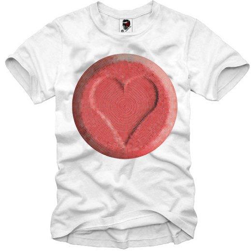 E1SYNDICATE(イーワンシジケート)ハート heart Tシャツ 20代 30代 ファッション コーディネート オシャレ トレンド T-シャツ 日本未入荷 インポートブランド 半袖 ホワイト 白 グレー 灰色 タンクトップ ノースリ 最新トレンド セレクトショップ シンジケート インスタ映え