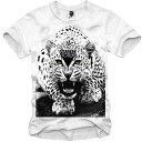 E1SYNDICATE(イーワンシジケート)YOUTH LEO 豹 ヒョウ Tシャツ 20代 30代 ファッション コーディネート オシャレ トレンド T-シャツ 日本未入荷 インポートブランド 半袖