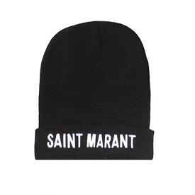 日本未入荷 Sixth June(シックススジューン)Saint Marant ロゴ ビーニー ニット帽 帽子 トレンド 20代 コーディネート 30代 コーディネート 40代 レディース 大人カジュアル divacloset 春 夏