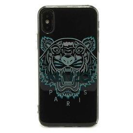 KENZO(ケンゾー) ケンゾー 3D TIGER iPhone ( X / XS ) ケース ブラック スマホケース ハイブランド インポート ブランド ファッション アイフォンケース