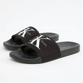 Calvin Klein(カルバンクライン)シャワーサンダル ビーチサンダル サボ ベナッシー ベナッシ 靴 日本未入荷 インポートブランド 20代 30代 40代 フェス 海 プール 高身長