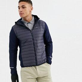 Calvin Klein Calvin Klein Golf 黒のフード ジャケット トレンド インポート 大きいサイズあり 流行 最新 メンズカジュアル カルバンクライン 小さいサイズあり