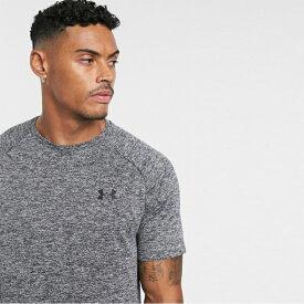アンダーアーマー Under Armour インポートブランド メンズ Tシャツ グレー 日本未入荷 大きいサイズあり 流行 最新 メンズカジュアル Tech 2.0 ファッション フィットネス