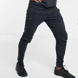 アンダーアーマー Under Armour スポーツ フリース ジョガー ブラック 大きいサイズあり 流行 最新 メンズカジュアル ファッション フィットネス