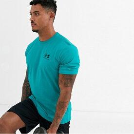 アンダーアーマー Under Armour インポートブランド メンズ Tシャツ ティール 日本未入荷 大きいサイズあり 流行 最新 メンズカジュアル ファッション フィットネス
