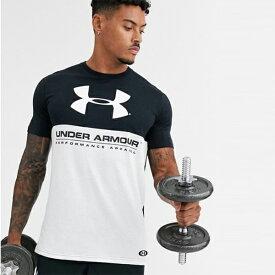 アンダーアーマー Under Armour インポートブランド メンズ Tシャツ カラーブロック 日本未入荷 大きいサイズあり 流行 最新 メンズカジュアル ファッション フィットネス