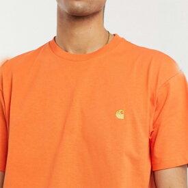 カーハート Carhartt WIP Tシャツ(オレンジ)コーディネート 20代 30代 40代 ファッション コーディネート