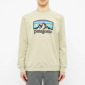 PATAGONIA パタゴニア patagonia スウェット フィッツロイホライゾンズアップリサルクルースウェット メンズ コットン トップス プルオーバー メンズ 長袖 ロングスリーブ フェス トレンド インポート 大きいサイズあり 流行 最新 メンズカジュアル