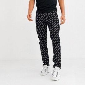 Calvin Klein カルバンクライン CK50 メンズ スリムジーンズ テーパードジーンズ スリム スリムフィット 50 Limited Edition デニム ストレッチ デニム ジーンズ ボトム asos エイソス 大きいサイズ インポート カジュアル アウトフィット フェス