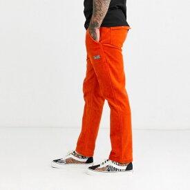 HUF ハフ メンズ ボトム パンツ ズボン イージーパンツコーデュロイ レギュラーフィット ロゴ スウェット 20代 30代 40代 ファッション コーディネート 大きいサイズ オシャレ トレンド インポート