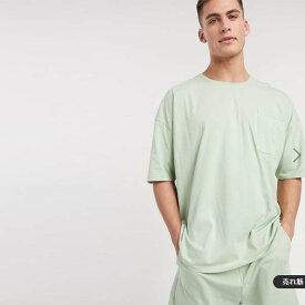 ASOS DESIGN パジャマ ショート Tシャツ セット 20代 30代 40代 ファッション コーディネート 小さいサイズから大きいサイズまでオシャレ トレンド インポート トレンド