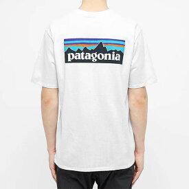 PATAGONIA パタゴニア patagonia Tシャツ ホワイト メンズ コットン トップス プルオーバー メンズ 長袖 ロングスリーブ フェス トレンド インポート 大きいサイズあり 流行 最新 メンズカジュアル