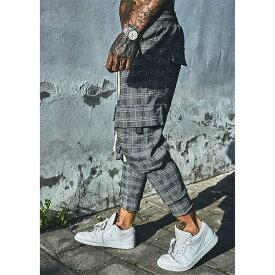 SINNERS ATTIRE(シナーズアタイア)メンズ ロゴ ジャージ ブランド ボトム スウェットパンツ ジョガーパンツ ジムウェア フィットネスウェア オシャレトレンド インポート トップス 大きいサイズ 20代 30代 40代 ファッション コーディネート