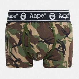 AAPE By A Bathing Ape ストレッチ ジャージー ボクサー 下着 アンダーウェア メンズ 男性 小さいサイズから大きいサイズまで 20代 30代 40代 ファッション コーディネート