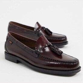 GH Bass&Co. Easy Weejuns Larkin タッセル ローファー バーガンディ レザー 靴 SHOES シューズ メンズ 男性 20代 30代 40代 ファッション コーディネート