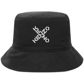 KENZO(ケンゾー)ケンゾー スポーツ クロス ロゴ バケットハット ハイブランド インポート ブランド トレンドファッション
