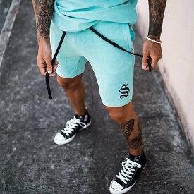 SINNERS ATTIRE(シナーズアタイア)メンズ ロゴ ジャージ ブランド ハイブリッド プロ ランニング ハーフパンツ ジムウェア フィットネスウェア トレーニング インポート トップス 大きいサイズ 20代 30代 40代 ファッション #OOTD