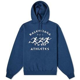 BALENCIAGA バレンシアガ マラソン ポップ オーバー フーディー パーカー メンズ 長袖 トレンド インポートブランド 大きいサイズあり 流行 最新 メンズカジュアル プレゼント