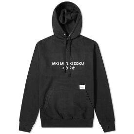 MKI スタジオ ロゴ フーディー パーカー メンズ 長袖 トレンド インポートブランド 大きいサイズあり 流行 最新 メンズカジュアル プレゼント