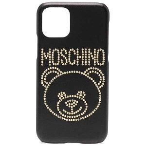 Moschino モスキーノ ロゴ テディベア iPhone 11 Pro ケース スマホケース iPhoneケース ハイブランド インポート ブランド プレゼント 20代 30代 40代 ユニセックス メンズ レディー