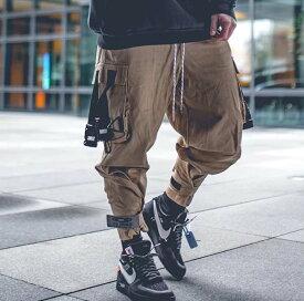 BLACKTAILOR(ブラックテイラー) インポートブランド メンズ カーゴパンツ サイドポケット ジム スウェットパンツ ジョガーパンツ 20代30代40代 日本未入荷 大きいサイズあり 流行 最新 メンズカジュアル edm フェス ファッション