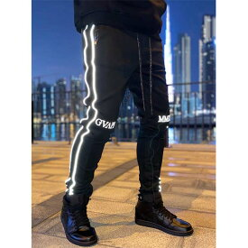 スイス発!「GUAPI」 メンズ ジョガーパンツ トラックパンツ スウェット パンツ ボトムス スリムフィット スキニーフィット ロングパンツ アンクルジップ トレンド インポートブランド 日本未入荷 大きいサイズあり メンズカジュアル ジムウェア 小さいサイズあり