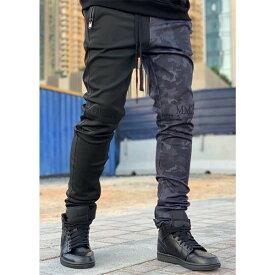 スイス発!「GUAPI」 メンズ ジョガーパンツ トラックパンツ スウェット パンツ 迷彩 ボトムス スリムフィット スキニーフィット ロングパンツ アンクルジップ トレンド インポートブランド 日本未入荷 大きいサイズあり メンズカジュアル ジムウェア 小さいサイズあり