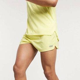 ASOS 4505 レモン ショート パンツ 20代 30代 40代 ファッション コーディネート 小さいサイズから大きいサイズまでオシャレ トレンド インポート トレンド