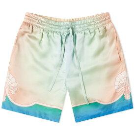 カサブランカ CASABLANCA カサブランカ明晰夢シルクショート パンツ ボトム メンズ 男性 インポートブランド 小さいサイズから大きいサイズまで