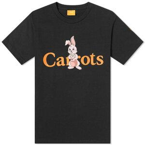 アンワー・キャロッツ Carrots by Anwar Carrots Anwar Carrots X Freddie Gibbs Rabbit WordmarkTシャツのニンジン トップス メンズ 男性 インポートブランド 小さいサイズから大きいサイズまで
