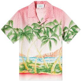 カサブランカ CASABLANCA カサブランカ半袖ローズマウイシャツ トップス メンズ 男性 インポートブランド 小さいサイズから大きいサイズまで