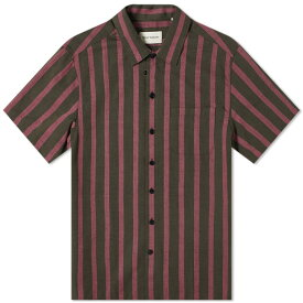 オリバー・スペンサー Oliver Spencer オリバースペンサー半袖アロハシャツ トップス メンズ 男性 インポートブランド 小さいサイズから大きいサイズまで