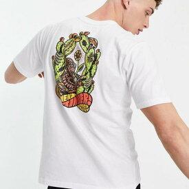 ElementPickあなたのポイズンTシャツを白で トップス メンズ 男性 インポートブランド 小さいサイズから大きいサイズまで