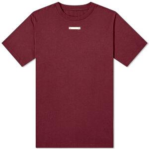 メゾン マルジェラ Maison Margiela メゾンマルジェラネームタグティー トップス メンズ 男性 インポートブランド 小さいサイズから大きいサイズまで