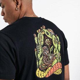 Element黒のポイズンTシャツを選ぶ トップス メンズ 男性 インポートブランド 小さいサイズから大きいサイズまで