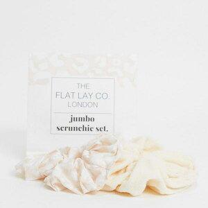 Flat Lay Co. XASOS専用ニュートラルジャンボシュシュセット アクセサリー レディース 女性 インポートブランド