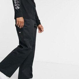 ディッキーズ Dickies ディッキーズダブルニーワークパンツ(ブラック) パンツ ボトム メンズ 男性 インポートブランド 小さいサイズから大きいサイズまで